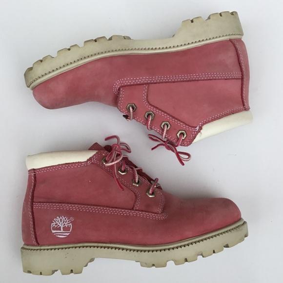 ventas especiales muy bonito niño Timberland Shoes | S Nellie Chukka Pink Boots Size 65 | Poshmark